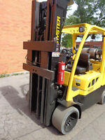 Hyster Forklift 12000LB capacity ,3stage mast