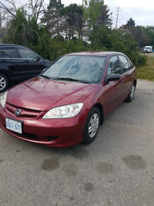 2005 Honda Civic! Low Km! Safety & E Tested