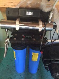 UV filtration system