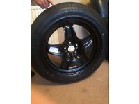 "Wheel and Tyre Originally for a ""13 Plate Vauxhall Astra"