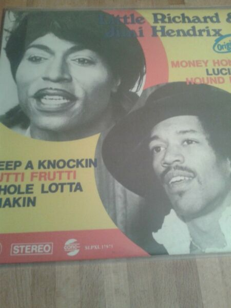 Little Richard and Jimi Hendrix -  Friends from the Beginning –lp ,H