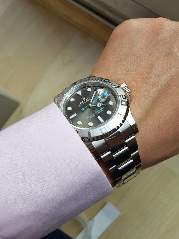 Rolex Yachtmaster Rhodium 3135 In West End London Gumtree