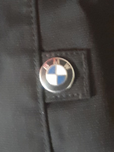 BMW comfort shell  textile jacket and pants.