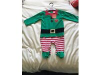 Christmas baby outfit 6-9 months