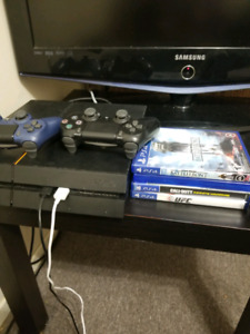 Ps4 playstation 4 10 games 2 controllers