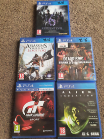 PS4 & PS5 Top Games Read Description