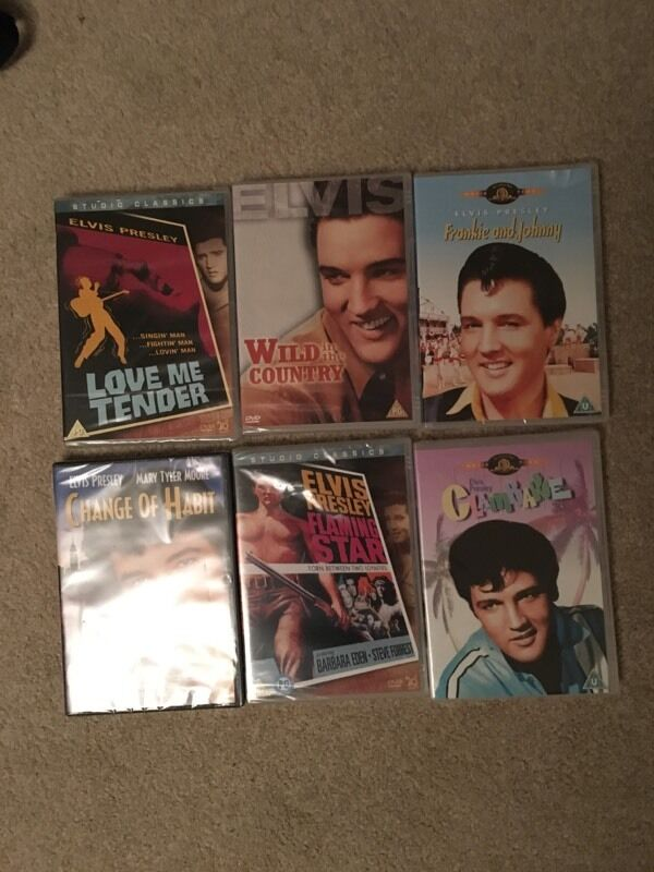 Selection of Elvis Presley DVDs