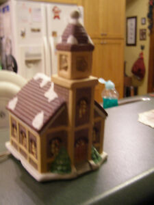 Assortment of Xmas Village  Houses