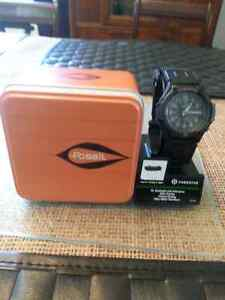 Fossil Casio Forester watch new in box.