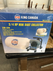 King Canada Dust Collectors for Sale