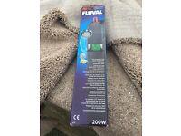 Fluval E200 digital aquarium heater - new
