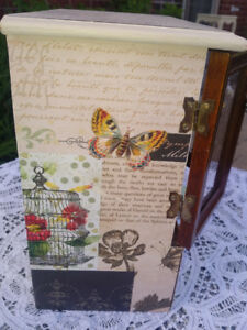 Antique hand designed beautiful jewlery box made for her