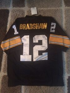 NFL throwback jersey Pittsburgh Steelers Bradshaw