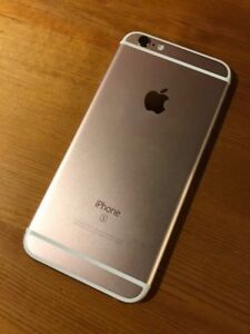 Rose Gold iPhone 6s, with Telus.