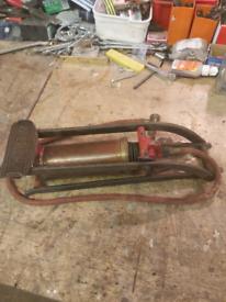 Vintage Foot Pump