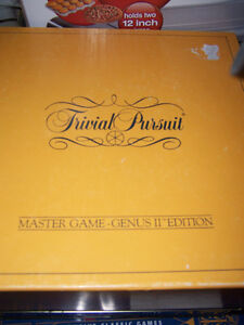 trival pursuit , 12 game tin, friend trival tin game all for $20