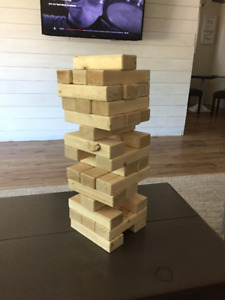 Large Jenga Style Game - Outdoor Summer Fun Party Game