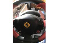 Ferrari 458 Spider Racing Wheel Xbox one.