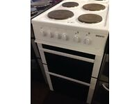 BEKO 50CM PLATED TOP FAN ASSISTED ELECTRIC COOKER6297