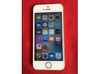 Apple iPhone 5s 16gb on o2 / Giffgaff/ Tesco