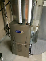 central air furnace  system