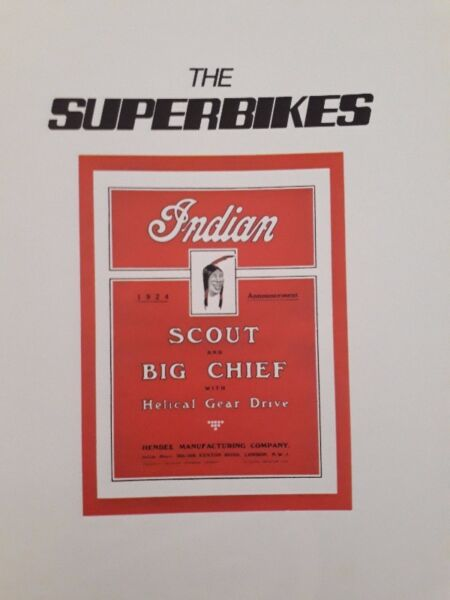 The Super Bikes - Mike Winfield And Laurie Caddell.