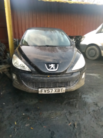 Peugeot 308 breaking for parts