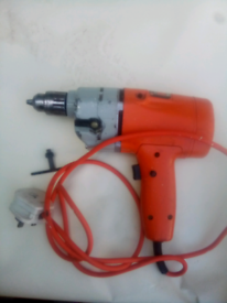 Electric black and decker drill good condition