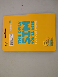 ARE YOU GOING TO AUSTRALIA? OPTUS SIM CARD FOR SALE