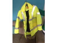 Brand new fluorescent jacket