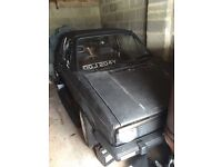 Early mk1 golf gti project 80% done (swaps)