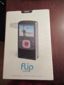 Flip UltraHD Video Camera - Black, 8 GB, 2 Hours  NEW!!