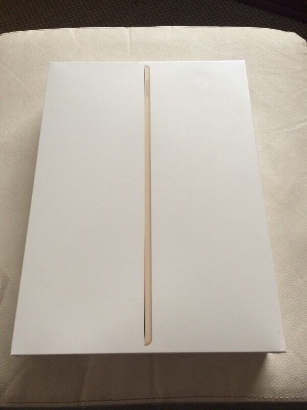 Apple Ipad Pro 12.9 wi-fi 128gb gold sealed unopened