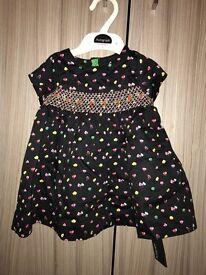 M&S Autograph 3-6 months girls dress