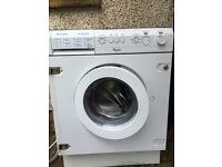 Whirlpool intergrated Washing machine