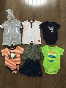 Boys 3-6 month summer clothes-$8