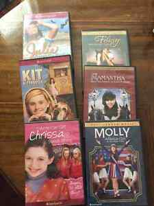Lot of 6 American Girl DVDs