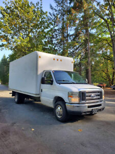 fully inspected 16 ft cube van CASH OR TRADES