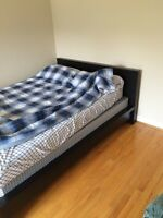 Brand new ikea bed frame double must go!