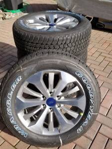 """GREAT DEAL ON BRAND NEW 2018 F150 20"""" & Lariat Wheels &Tires."""
