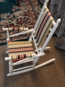 Striped Kids Chair