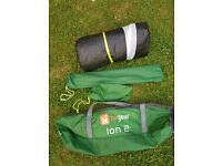 Hi-Gear Ion 2 two berth tent-easy up compact like new