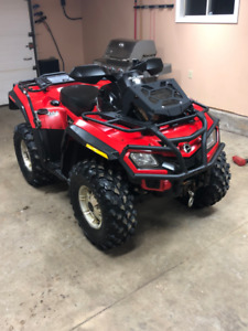 2010 Can Am 800 Outlander XT ( SOLD )