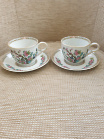 Maddock India tree cup and saucer