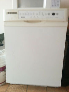 Used white dishwasher for sale