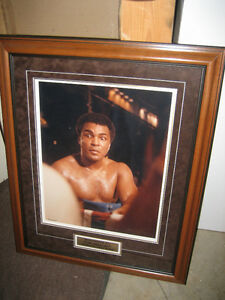 Muhammad Ali Framed Print Collection or Jays bobblehead