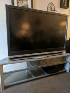 SONY flat screen tv stand included