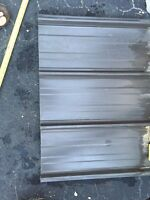 Steel Cladding- Charcoal Gray