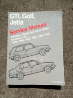 VW GTI, Golf, Jetta Factory Service Manual 1985 - 1990