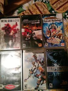 6 PSP games
